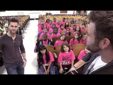 """Pretty Beautiful"" The Swon Brothers ft. PS22 Chorus"