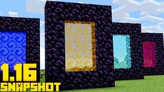 NEW Infinite Dimensions! APRIL FOOLS Update Minecraft 1.16 Snapshot 20w14infinite