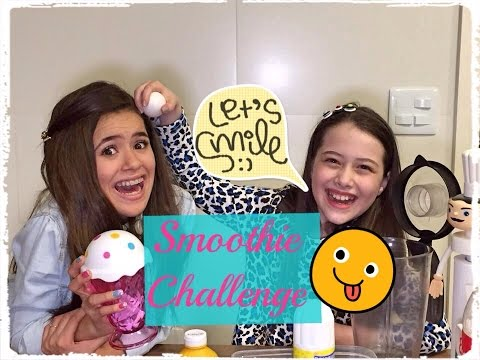 SMOOTHIE Diferente com Maisa Silva (Surpresa no Final)