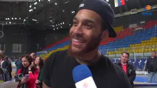 Interview with the players of BC Enisey after the season-2018/19