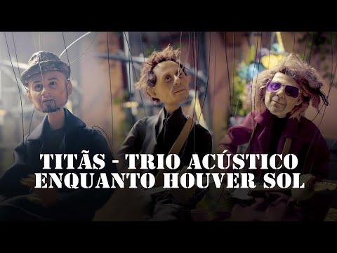 """Titãs se transformam em marionetes no clipe """"Enquanto Houver Sol"""""""