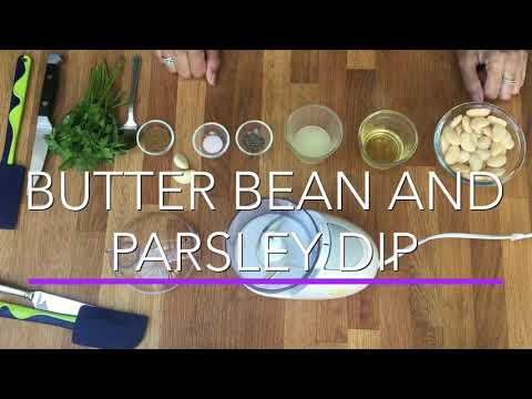 Butter Bean & Parsley Dip
