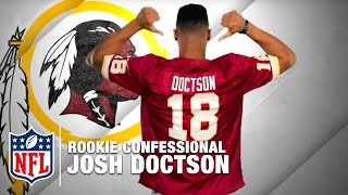 Josh Doctson The One Thing Fans Don't Know About You is... | Rookie Confessional | NFL Network by NFL Network