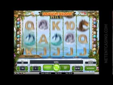 entertainment software - Don't kill the dragons in video slot Dragon Island because they can bring you awesome winnings and if you want to play the slot for free you're welcome at ht...