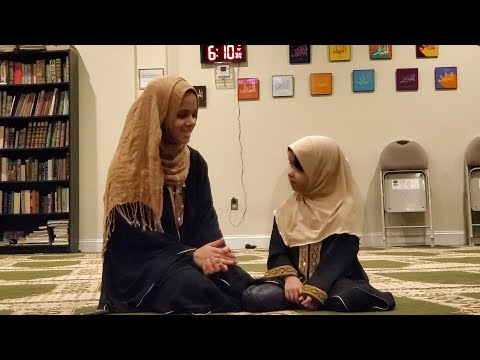 💕💖A Day with Maryam and Fatima at the Masjid with Salah and Du'a