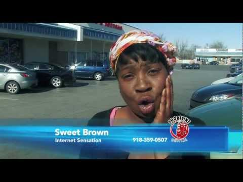 aint - Sweet Brown - Toothache? Ain't Nobody Got Time for That! Produced by Calhoun Advertising. www.calhounspot.com To follow Sweet Brown: Facebook: teamsweetbrown...