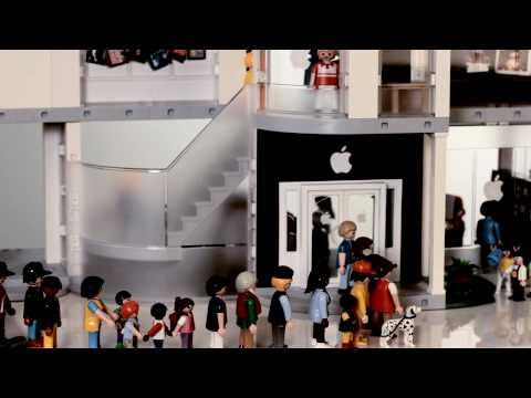 0 Un Apple Store en Playmobil