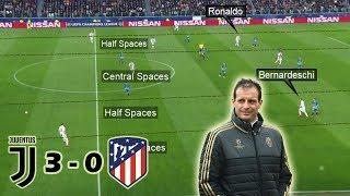 Juventus Make History in Turin | Juventus vs Atletico Madrid 3-0 | Tactical Analysis