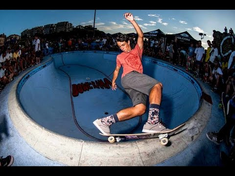 skating - Check out more from the contest: http://win.gs/10oeMFK From the fast lines and carving grinds of local skate legend Don Txus Dominguez to the overhead 540s of Pedro Barros and Cory Juneau,...