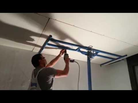 Elevadoras de placas de pladur videos videos - Plancha de pladur ...