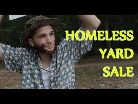 Homeless Yard Sale - Three Amigos Comedy