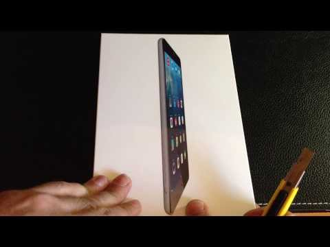 Unboxing and initial setup of the iPad Mini AT&T version from Apple