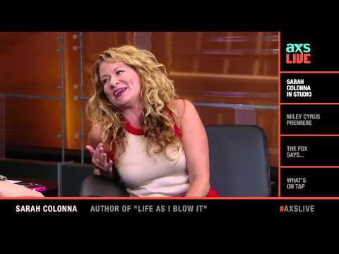 Sarah Colonna Interview on AXS Live