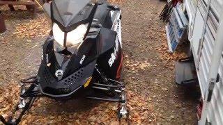 8. 2015 skidoo Renegade Sport 600 carb