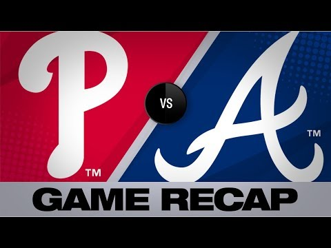 Video: Braves score 6 in 6th to surge past Phillies | Phillies-Braves Game Highlights 7/3/19