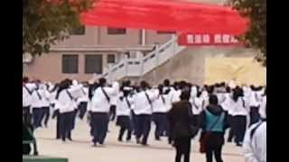Shaoyang China  city photos : Gangnam Style- Mel's Number 4 Middle School Shaoyang China