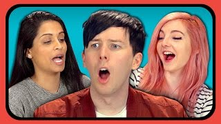 Video YouTubers React to Try to Watch This Without Laughing or Grinning #3 MP3, 3GP, MP4, WEBM, AVI, FLV Juli 2018