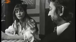 interview Serge Gainsbourg et Jane Birkin 1973 RARE RTBF