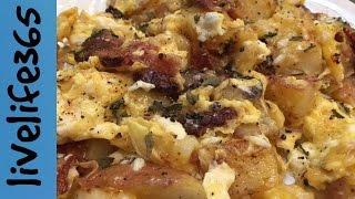 8. How to...Make a Killer Bacon, Potato & Cheese Scramble
