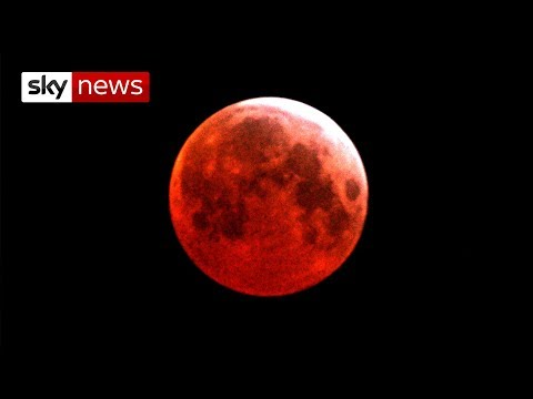 Watch Live As Blood Moon Rises Over The Earth