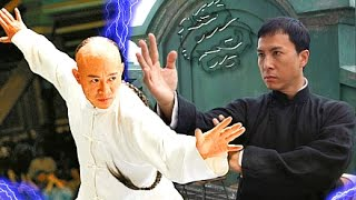 Video Jet Li vs Donnie Yen! - (IP Man VS Danny the Dog)☯ Epic Wushu Martial Arts Fights & Training. MP3, 3GP, MP4, WEBM, AVI, FLV April 2019