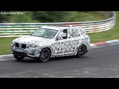 BMW BMW X3 M F97 test mule