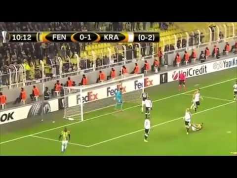 Fenerbahce vs Krasnodar 1-1 All Goals & Best Moments Highlights HD UEFA Europa League 2016/17