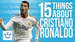 Video 15 Things You Didn't Know About Cristiano Ronaldo MP3, 3GP, MP4, WEBM, AVI, FLV Oktober 2018