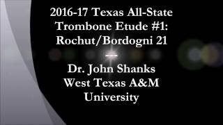 2016-17 TMEA All-State Etude tips: Bordognis!