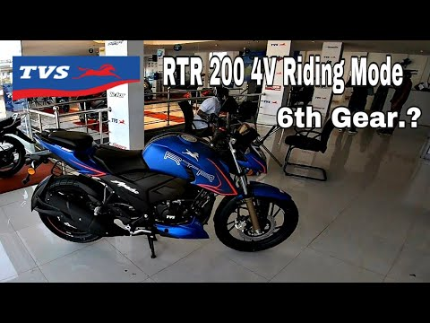 TVS Apache RTR 200 4V BS6 With Riding Modes | Detailed Review Malayalam