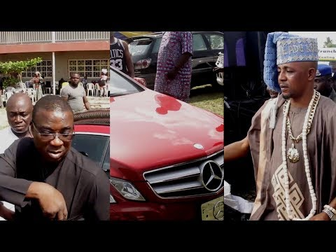K1 De Ultimate Show Up His New 2019 Benz While Jafo Authority Challenge Him With Gold Chain