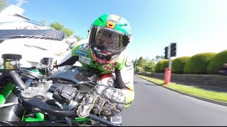 Rekord prędkości Isle of Man! Gość śmiga 331 km/h na Kawasaki H2R!