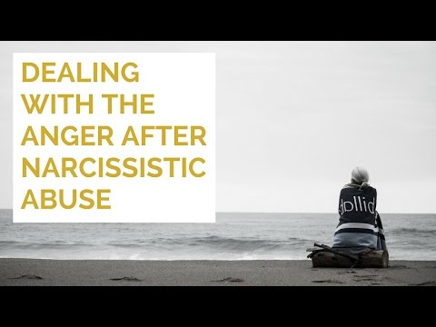 Dealing with the anger after narcissistic abuse