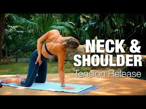 Neck & Shoulder Tension Release Yoga Class – Five Parks Yoga