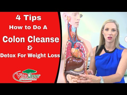 4 Tips how to do a Colon Cleanse : Detox for Weight loss – VitaLife Show Episode 153