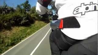 Onboard Test Ducati Multistrada 1200 S Touring 2013  - Video Test