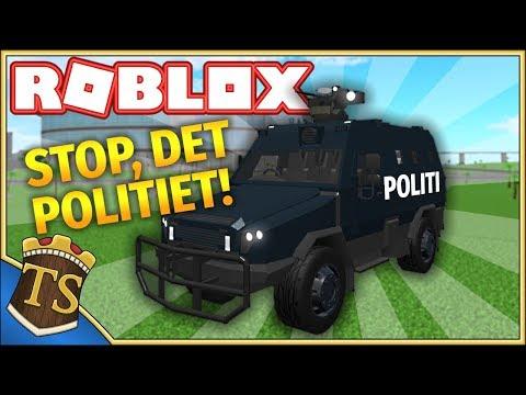2 MILLIARDER POLITIBIL MED TURRET! - Car Crusher 2  Dansk Roblox