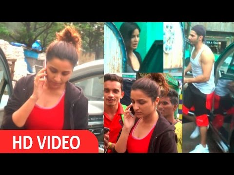 Dream Team Rehersal With Parineeti Chopra, Varun Dhawan & Katrina Kaif