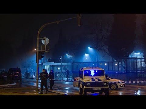 Μαυροβούνιο: Επίθεση βομβιστή-καμικάζι έξω από την πρεσβεία των ΗΠΑ…