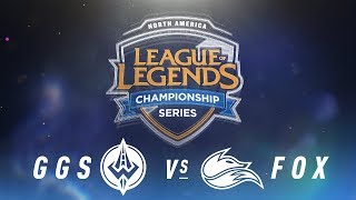 Video GGS vs. FOX - Week 7 Day 1 | NA LCS Spring Split | Golden Guardians vs. Echo Fox (2018) MP3, 3GP, MP4, WEBM, AVI, FLV Juni 2018