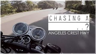 8. Can the Triumph Bonneville T120 Keep Up? 😆 - Angeles Crest | Canyon Ride