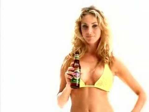 Girl Farts during beer commercial