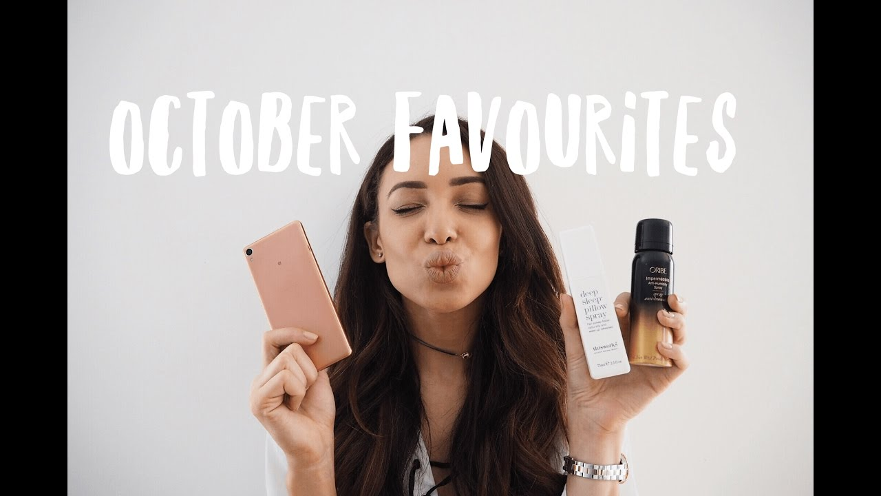 My Top 5 October Favourites | Danielle Peazer | Ad