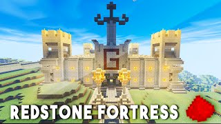 THE BEST REDSTONE HOUSE IN MCPE!! (w/ 20+ Redstone Creations/Redstone Mechanisms)