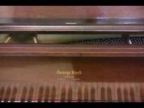 sonnyspianotv - Visit htttp://www.SonnysPianoTV.com for piano music videos of pianos for sale, piano lessons and tips. This video features a George Steck, Chocolate Mahogany...