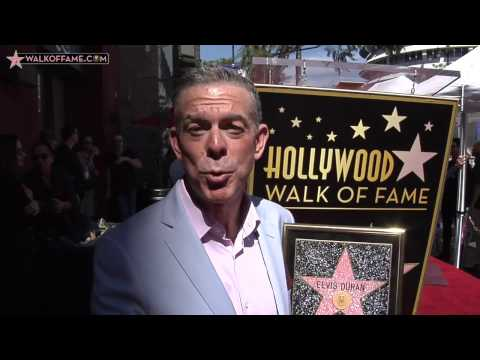Elvis Duran Walk of Fame Ceremony