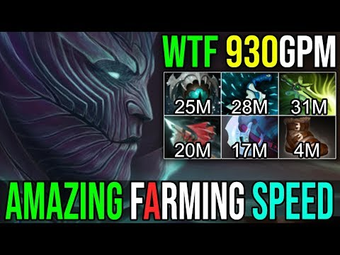 Immortal Demon Slayer [Terrorblade] UNBELIEVABLE FARMING SPEED 930GPM No Death 7.19 Dota 2 FullGame