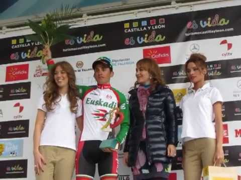 Carlos Barbero, Premio al primer Castellano Leons en la Vuelta Ciclista de CyL