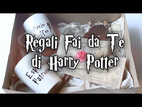 come realizzare in casa dei fantastici regali di harry potter
