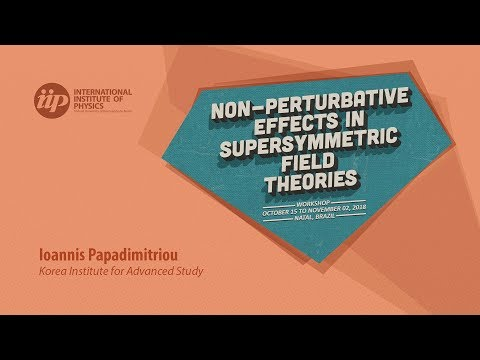 SQFTs on curved backgrounds and supersymmetry anomalies - Ioannis Papadimitriou